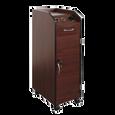 Keystone Mahogany Lockable Wood Trolley