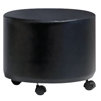 Pibbs Black Pedicure Ottoman