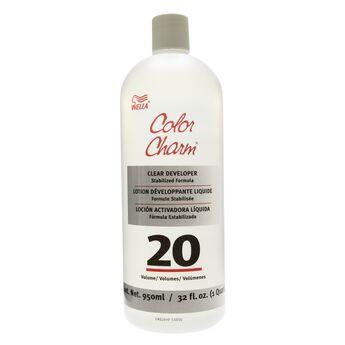 color charm liquid clear 20 volume developer - Wella Color Charm