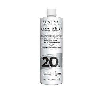 Clairoxide Pure White 20 Volume Creme Developer 16 oz.