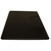 3' x 5' Unique Therapeutic Black Mat  - Rectangle