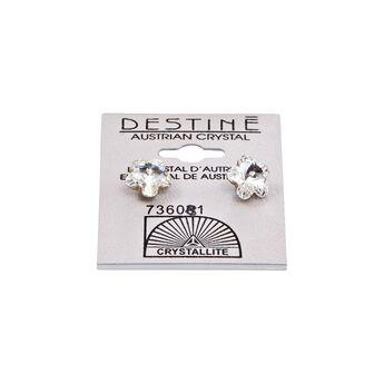Destine Flower Earrings 10mm