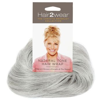 Light Grey Natural Tone Hair Wrap