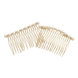 Gold & Pearl Side Combs
