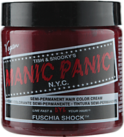 Fuschia Shock Semi Permanent Cream Hair Color