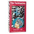Fashionista Sassy Stripes Shower Cap