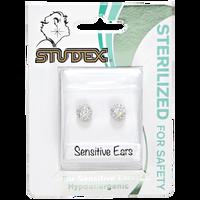 Fireball Aurora Borealis 6mm Earrings