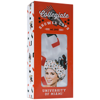 University of Miami Collegiate Shower Cap
