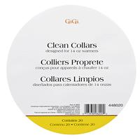 Wax Warmer Clean Collars