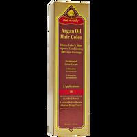 3R Dark Red Brown Argan Oil Permanent Hair Color Cream