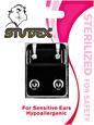 Mini Cubic Zirconia Sterilized Piercing Earrings Stainless Steel