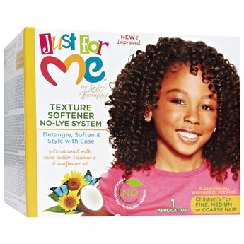 Soft Amp Beautiful Just For Me No Lye Texture Softener Kit