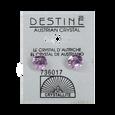 Destine Diamond Cut Earrings 8mm