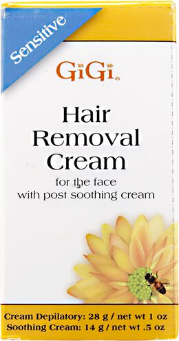 Sensitive Hair Removal Cream For Face