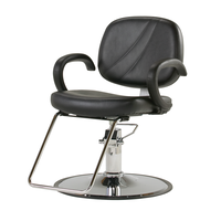 Paige Styling Chair with Chrome Base