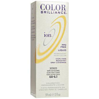 6A Dark Ash Blonde Permanent Liquid Hair Color