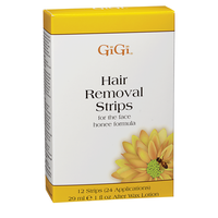 Facial Hair Removal Strips