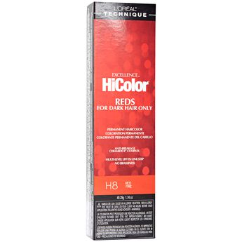 HiColor Red Fire Permanent Creme Hair Color