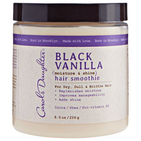 Black Vanilla Hair Smoothie