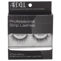 Professional Strip Lashes Gisele 6 Pack