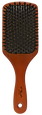 Hardwood Boar Bristle Cushion Paddle Brush