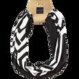 Black and White Geometric Headwrap Duo