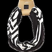 Black & White Geometric Headwrap Duo