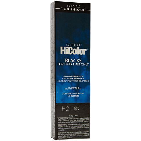 H21 Black Onyx HiColor Violet & Black Shades