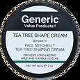 Tea Tree Shape Cream compared to Paul Mitchell Tea Tree Shaping Cream