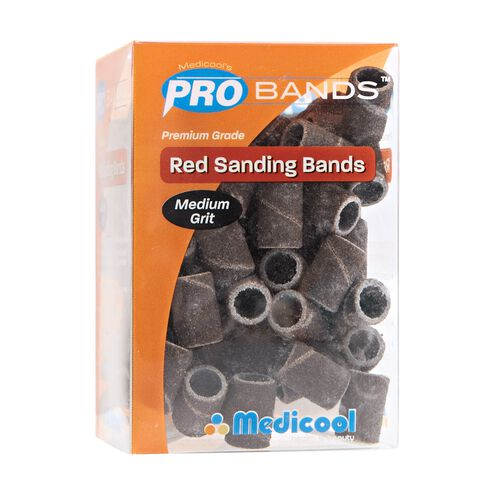 Pro Red Medium Sanding Bands