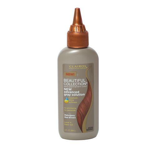 4r mahogany red brown semi permanent hair color - Colorant Semi Permanent