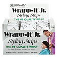 Wrapp-It Jr. Styling Strips Black 40 Count Pack