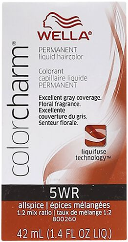 All Spice Color Charm Liquid Permanent Hair Color