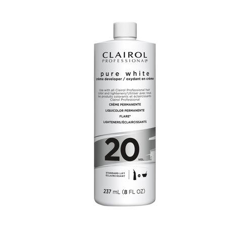 Clairoxide Pure White 20 Volume Creme Developer 8 oz.