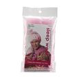 Satin Swirl Pink Sleep Cap & Bonnet