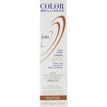 6WR Dark Gold Mahogany Blonde Permanent Creme Hair Color
