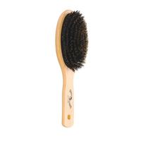 Oval Boar Bristle Cushion Paddle Brush