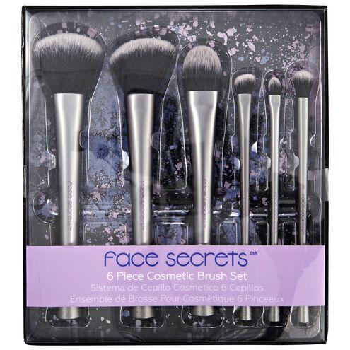 6-Piece Cosmetic Brush Set