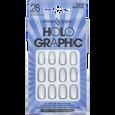 Holographic Chrome Nail Tips Kit