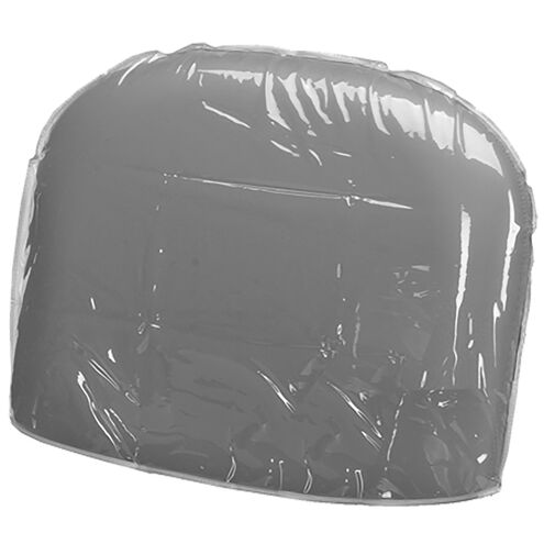 Kenna Clear Chair Back Cover
