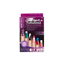 Fast and Fabulous Fancy French Glitter Kit