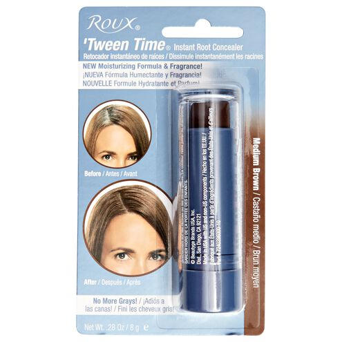 Medium Brown Instant Hair Color Touch Up Stick