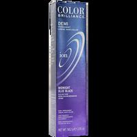 Midnight Blue Black Demi Permanent Creme Hair Color