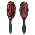 Grooming Brush With Natural Bristle & Nylon Pins