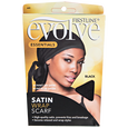Nighttime Go Satin Wrap Cap Black