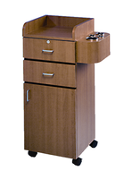 Mobile Styling Station Cabinet