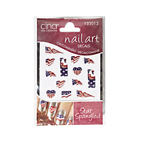 Art Jewelry Decals Star Spangled