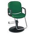 Pibbs Chameleon Hunter Green Styling Chair