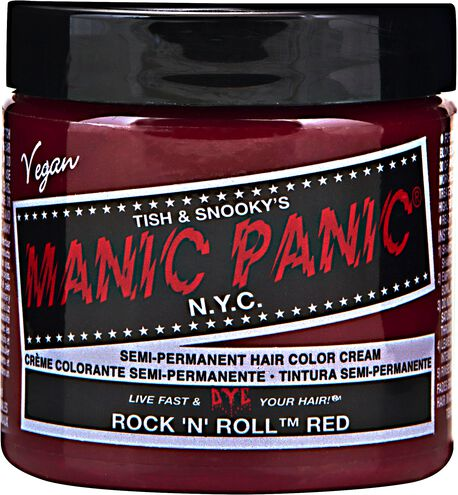 Rock 'N Roll Red Semi Permanent Cream Hair Color