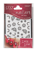 Lacey Love 3D Nail Art Jewelry Decals